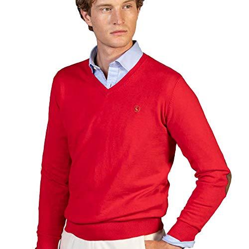 El Ganso Básico Coderas Jersey, Rojo (Rojo), X-Large (Tamaño del Fabricante:XL) para Hombre