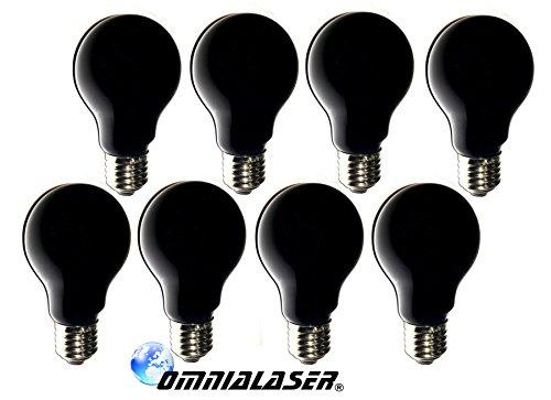 OmniaLaser OL-SimilUV75X8 UV-lamp, E27, E27, 8 stuks, 75 W, 230 V