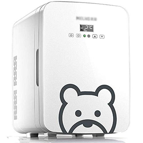 LVYE1 MRMF Refrigerador Doméstico Mini Refrigerador Calefactor, Refrigerador LED Portátil De Gran Capacidad De 10 litros, Adecuado para Automóviles, Dormitorios, Casas, Oficinas, Dormitorios