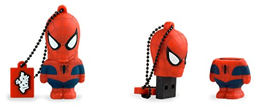 Llave USB 16 GB Spiderman - Memoria Flash Drive 2.0 Original Marvel...