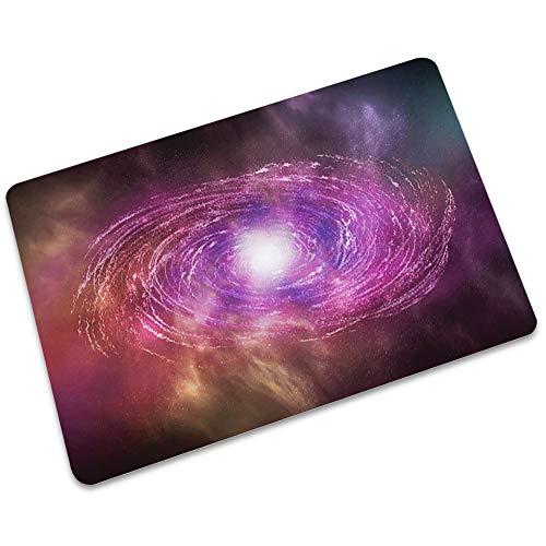 LJJJZS Felpudo de goma Planet alfombras ultrafinas, no absorbentes de Carmen alfombra antideslizante para dormitorio-cocina LJMD-04