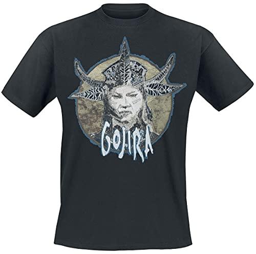 Gojira Fortitude Portrait Uomo T-Shirt Nero 3XL 100% Cotone Regular