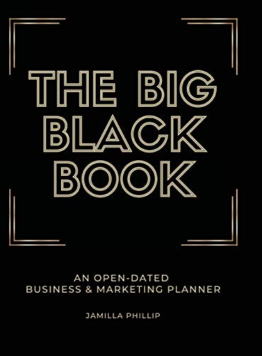 The Big Black Book: An Open-Dated Marketing Planner