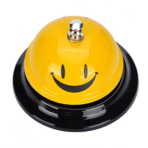 SOUARTS, campanello da banco, per reception di hotel, ristoranti, cucina o per animali domestici., 6cmx8.5cm