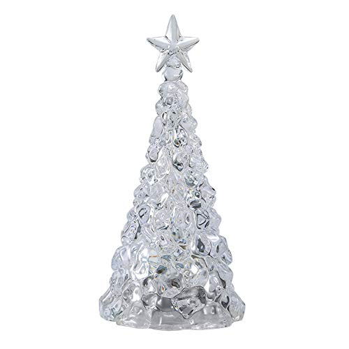 Maxte Colour Changing LED Christmas Tree Battery Operated and Portable for Dining Table Centrepieces Mantle