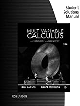 Student Solutions Manual for Larson/Edwards' Multivariable Calculus, 11th