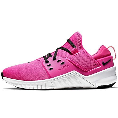 Nike Womens Free Metcon 2 Training Shoe (7, Laser Fuchsia/Black-White)