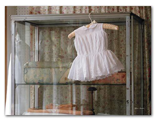 Romantik Pure - Cuadro XXL de pared (120 x 90 cm, formato horizontal, impresión digital sobre cristal acrílico de 5 mm), diseño romántico de París