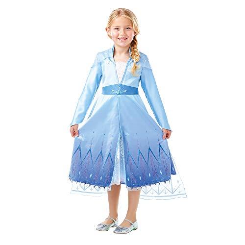Frozen 2 Premium Disfraz Elsa Travel, M, Multicolor, (Rubie