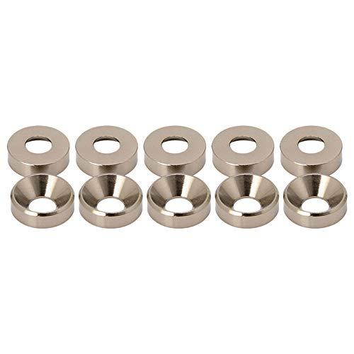 QUJJP Viti Lega di Alluminio M5 anodizzato anodizzato la Guarnizione per bullone anodizzato Guarnizione N58A Acciaio Inossidabile (Inner Diameter : Titanium)