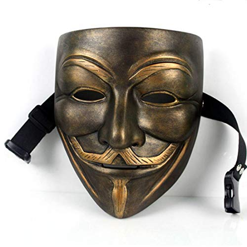 V for Vendetta Mask Anonymous Movie Guy Fawkes Halloween Masquerade Party Costume Prop Toys