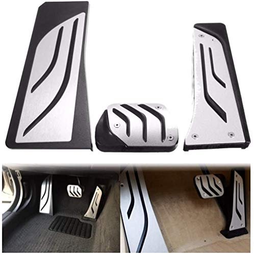 HZHAOWEIKit de Almohadillas para Pedal de Freno de Coche. para BMW 5 6 7 Series AT LHD F10 F11 F12