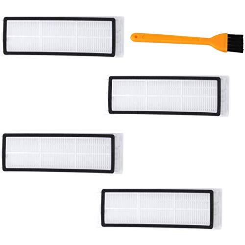 DONGYAO Filtro HEPA piezas de repuesto para Mijia S50 S51 S55 S5Max S6 Aspiradora caja de polvo filtro Accesorios para Partes de aspirador