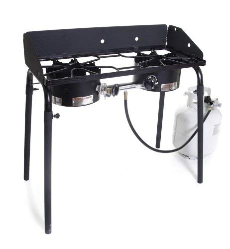 Camp Chef Explorer Double Burner Stove 4