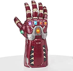Avengers: Endgame premium roleplay item: The intricately detailed design of this electronically articulated power gauntlet is inspired by the Avengers: Endgame movie, Part of the Marvel Cinematic universe. Pulsating Infinity stone glow light effect: ...