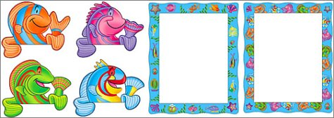 Friendly Fish Display Frame (Scholastic Display Frames & Toppers)