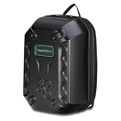 DJI Phantom 4 Backpack, Airhornet Hardshell Protective Waterproof Carrying Backpack Case Traveling Backpack for DJI Phantom 4/Standard/Professional/Advanced, Black