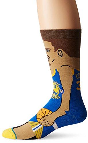 Stance NBA Legends Socks Stephen Curry - Blue-Large