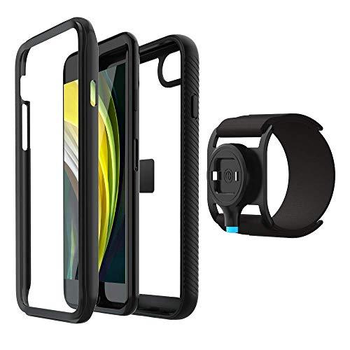 SPORTLINK Run Kit per iPhone SE 2020, iPhone 7 / iPhone 8 Fascia da Braccio Sportiva con Custodia Cover per Corridori, Allenamenti, Palestra, Fitness e Sport (4,7 Pollici)