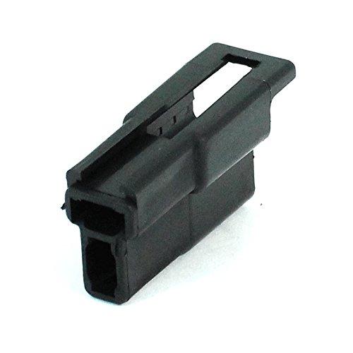 Delphi 2984883 Metri-Pack 2-Way Male Connector, Black, 56 Series (10 per pack)