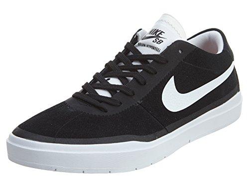 Nike Nike Herren Bruin SB Hyperfeel Skateboardschuhe, Schwarz, Weiß, 40 EU
