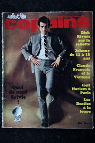 Salut les Copains N° 19 * 02 1964 * COMPLET * SYLVIE VARTAN JOHNNY HALLYDAY Dick Rivers BEATLES Claude FRANCOIS