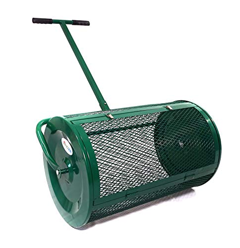 Landzie Compost amp Peat Moss Spreader 24 Inches