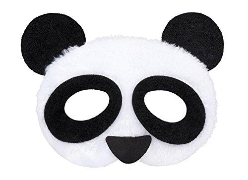 Boland 56721 Maske Panda Plüsch, One Size