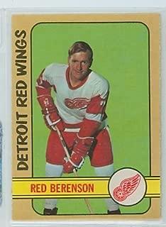 1972-73 OPC Hockey 123 Red Berenson Detroit Red Wings Near-Mint