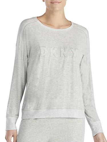 DKNY Core Essentials Longsleeve-Top mit Logo Damen