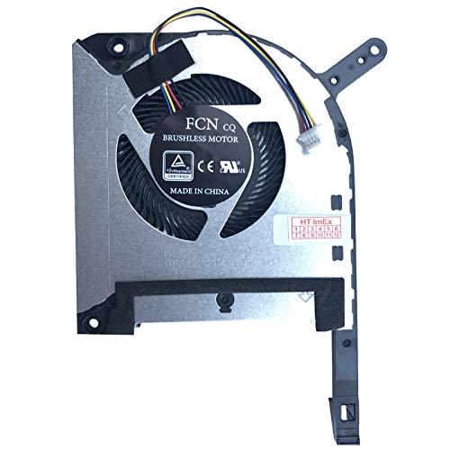 Price comparison product image CPU Version Fan Cooler Compatible with Asus TUF FX505DD,  TUF FX505DT,  TUF FX505DU,  TUF FX505DY,  TUF FX505GD,  TUF FX505GE,  TUF FX505GM,  DFS5K12114262H-FL8R,  DC5V-0.5A