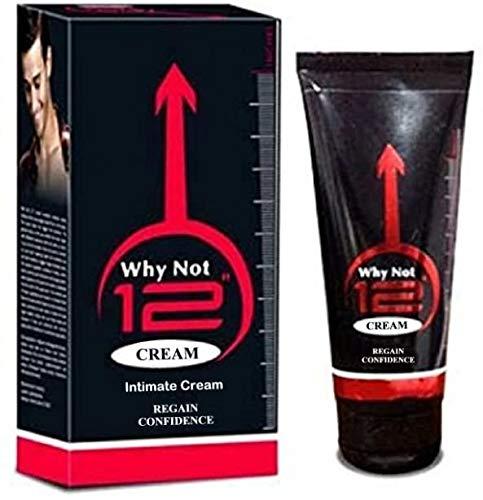 Why Not - Crema íntima de 30,48 cm para aumentar la realidad, 60 g