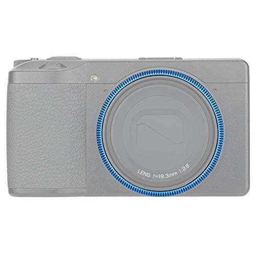 Tapón de anillo para cámara digital GR III de repuesto Ricoh GN-1, color azul