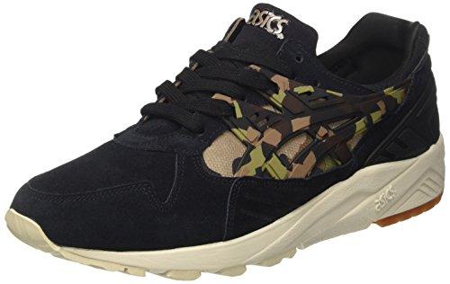 ASICS Unisex-Erwachsene Gel-Kayano Trainer Sneaker, Schwarz (Black/Martini Olive), 41.5 EU