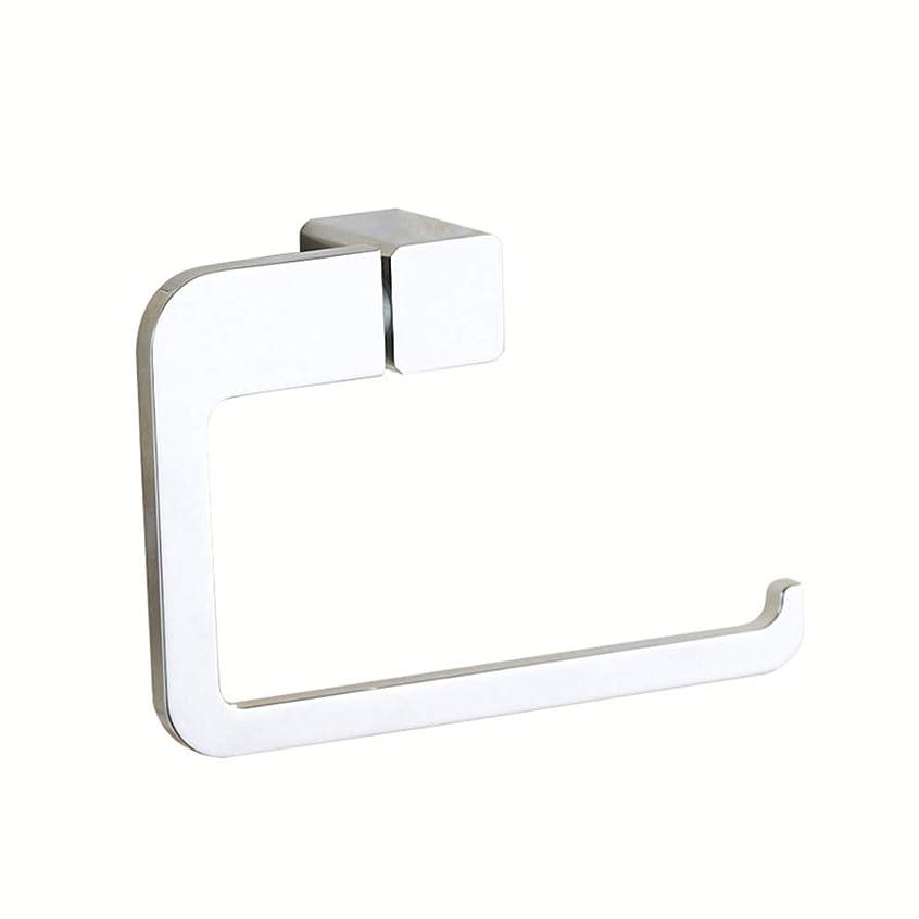 用心深いランチ通知トイレットペーパーロールホルダー浴室 SUS 304 ステンレス鋼クローム仕上げトイレットペーパーティッシュホルダー壁マウントカバーなし