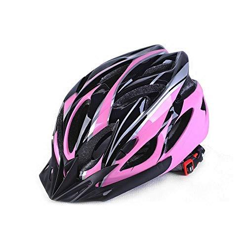 Protectora para Hombre Adulto Camino Ciclismo Casco de MTB Mountain Bike/Bicicletas/Ciclo Negro...