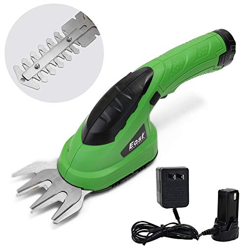 Why Should You Buy Portable 2-in-1 Cordless Grass Shear Lithium-ion Rechargeable Grass Trimmer Shear...