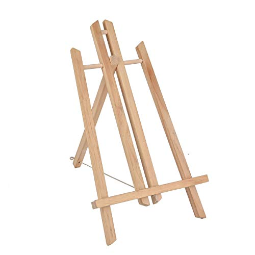 ZSBYREKA 16' Desktop Display Artist's Wooden Easel Stand,Portable Tripod Bracket,Accommodates Canvas Art up to 14' high.