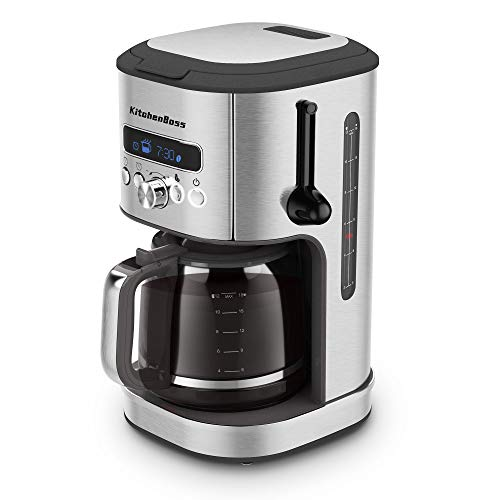 KitchenBoss Cafetera de Goteo Electrica