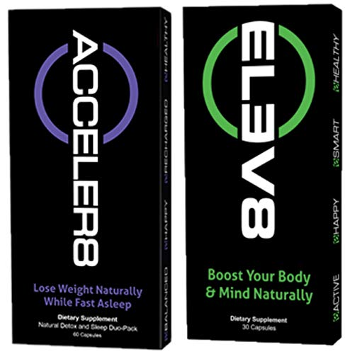 BEpic - ELEV8 ACCELER8 Combo Pack - Boost Your Body (30 Day Supply - 1 Pack ELEV8, 1 Pack ACCELER8)