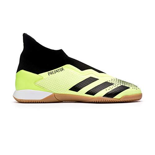adidas Predator 20.3 LL IN, Zapatilla de fútbol Sala, Signal Green-Core Black-White, Talla 11 UK (46 EU)