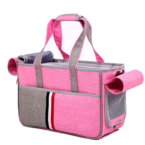 ZISITA Faltbarer Rucksack für Hunde und Katzen, atmungsaktiv, mit Schultertasche S B