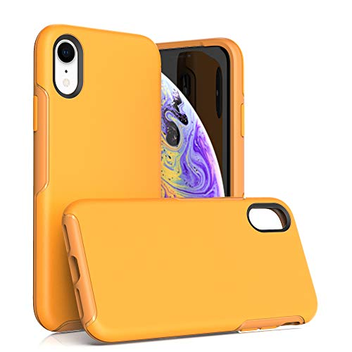 Krichit Ongoing Series Compatible with iPhone XR Case, Anti-Drop and Shock-Absorbing case Compatible with iPhone XR Case (Yellow)