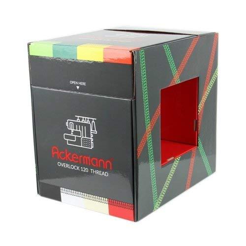 Ackermann bobines de Fil, Polyester, Multicolore, 22 x 32 x 32 cm