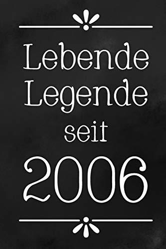 Lebende Legende 2006: DIN A5 • 120 Punkteraster Seiten • Kalender • Notizbuch • Notizblock • Block • Terminkalender • Abschied • Abschiedsgeschenk • Ruhestand • Arbeitskollegin • Geburtstag