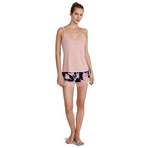 PROMISE Pijama de Tirantes Combinado N05202 - Rosa, L