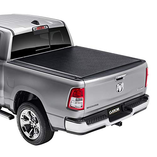 "Gator ETX Soft Roll Up Truck Bed Tonneau Cover | 53205 | Fits 2009 - 2018, 2019/2020 Classic Ram 1500, 2010-20 2500 & 3500 6'4"" Bed Bed 