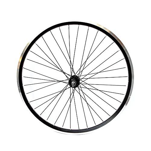 Ruedas de bicicletas, Ruedas MTB giratoria con freno en V, llanta de doble pared de aleación de aluminio, liberación no rápida / 26 Inch/Front wheel