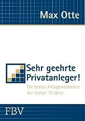 Finanzen Max Otte Die besten Anlageweisheiten der letzten 10 Jahre