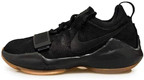 Nike Kids PG 1 GS, BLACK/COURT PURPLE-HYPER GRAPE, Youth Size 7